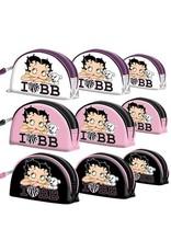 Betty Boop Betty Boop tassen - Betty Boop Toilettas I Love BB Wit (set van 3)