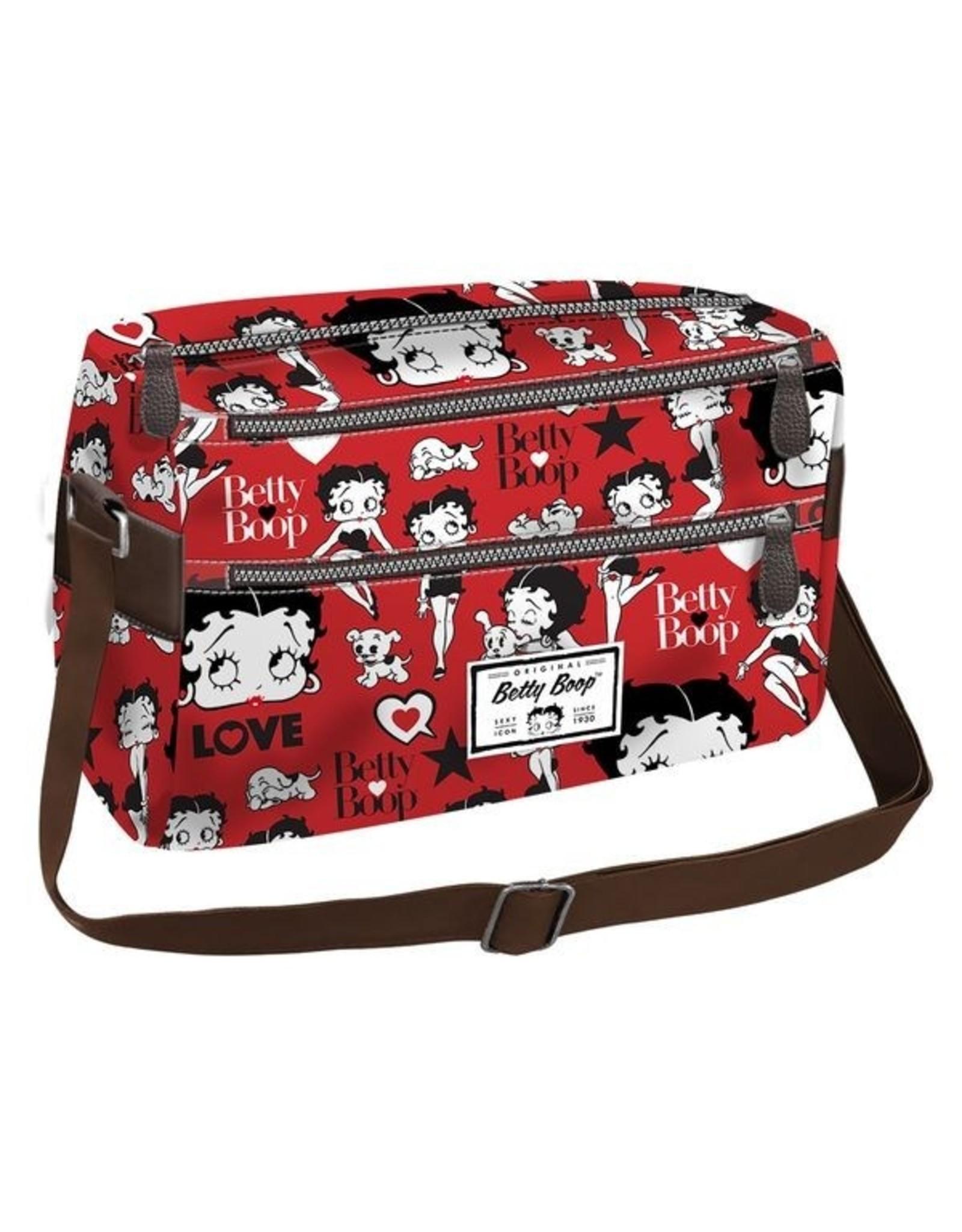 Betty Boop Betty Boop tassen - Betty Boop Schoudertas rood