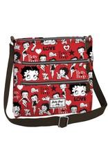 Merchandise tassen - Betty Boop Schoudertas Love rood