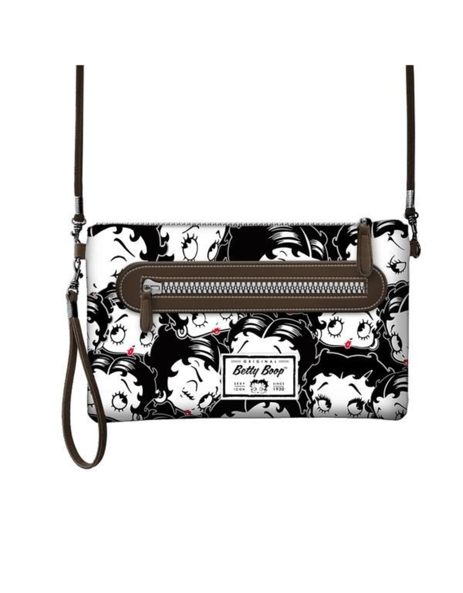 Betty Boop Betty Boop tassen - Betty Boop Schoudertasje Handy zwart