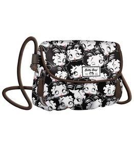 Betty Boop Shoulder bag Clamy black
