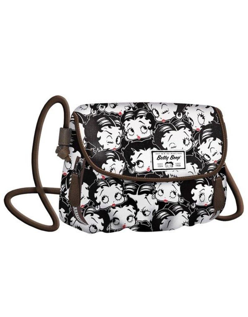 Merchandise tassen - Betty Boop Schoudertas  Clamy zwart