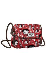 Betty Boop Betty Boop tassen  - Betty Boop Schoudertas Clamy rood