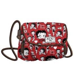 Betty Boop Schoudertas Clamy rood