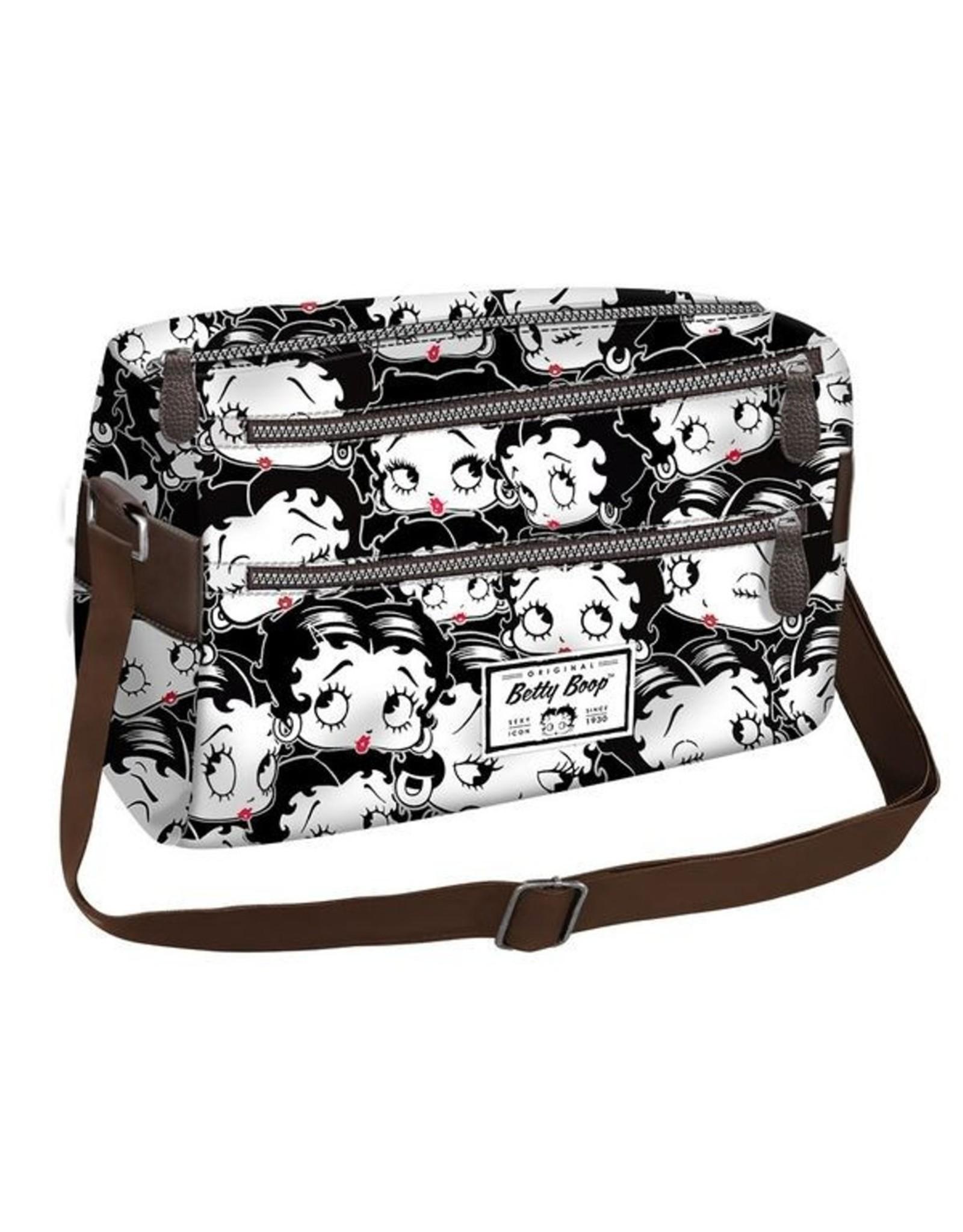 Betty Boop Betty Boop tassen - Betty Boop Schoudertas Basic Horizontaal zwart