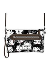 Merchandise tassen - Betty Boop Schoudertasje Handy zwart