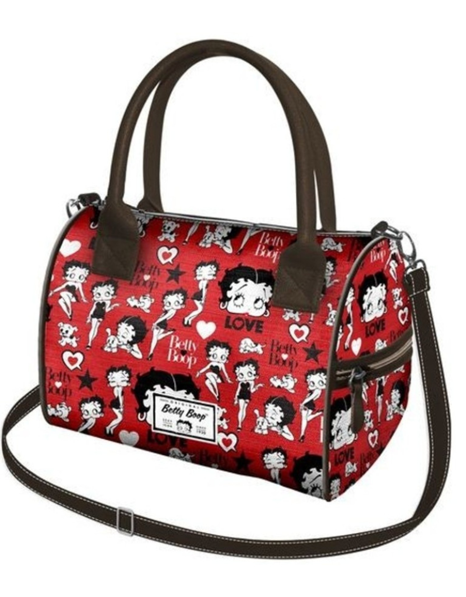 Betty Boop Betty Boop tassen - Betty Boop Handtas Chest rood