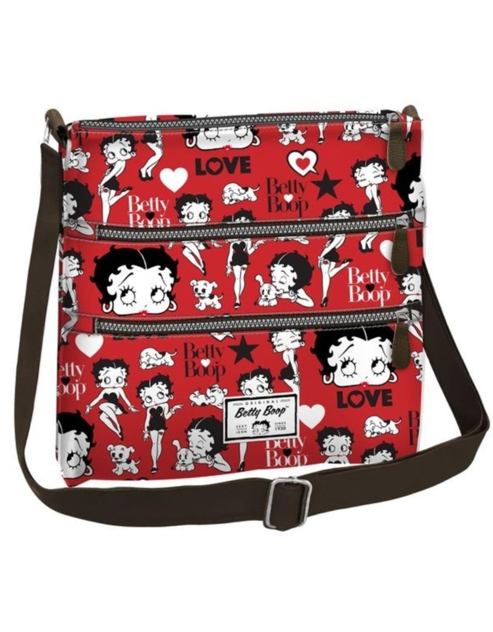Betty Boop Betty Boop tassen - Betty Boop Schoudertas Love rood