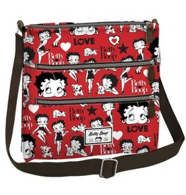 Betty Boop Shoulder bag Love red