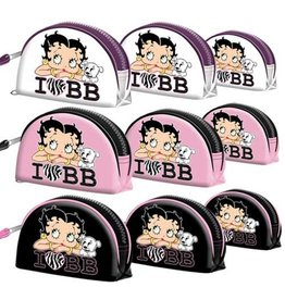 Betty Boop Toiletry bag I Love BB White (set of 3)