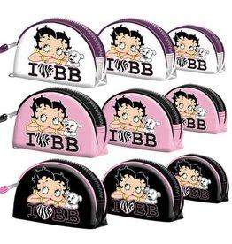 Betty Boop Toilettas I Love  BB Wit (set van 3)