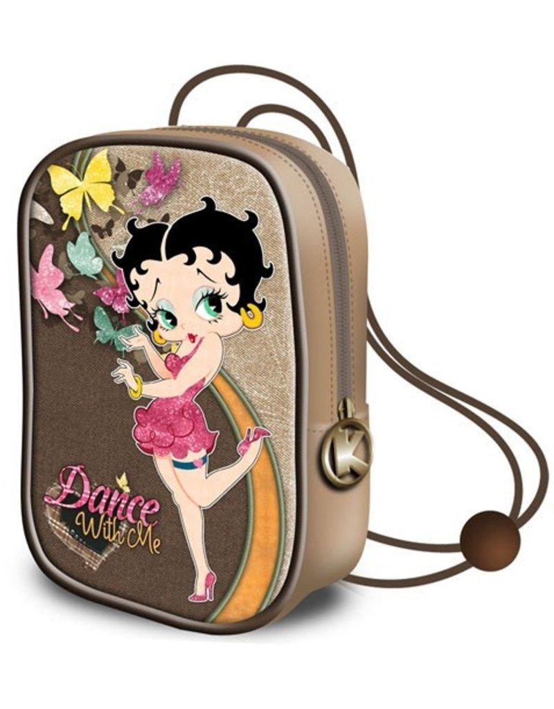 Betty Boop Merchandise tassen - Betty Boop Vintage Mini Laktasje Dance with Me