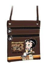 Merchandise tassen - Betty Boop Schoudertasje Scooter Lak