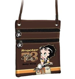 Betty Boop Betty Boop Schoudertasje Scooter Lak