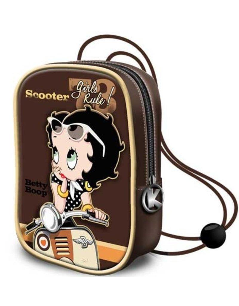 Betty Boop Merchandise tassen - Betty Boop Mini Laktasje Scooter