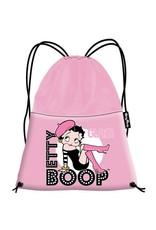 Merchandise tassen - Betty Boop Luxe Gymbag met Lak voorvak