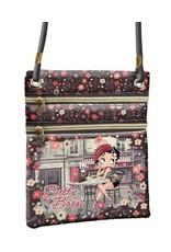 Betty Boop Betty Boop bags - Betty Boop shoulder bag Café (vert.)