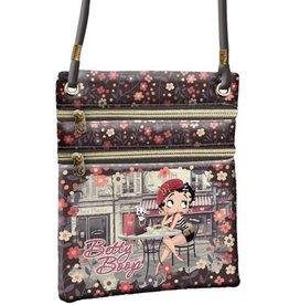 Betty Boop shoulder bag Café (vert.)