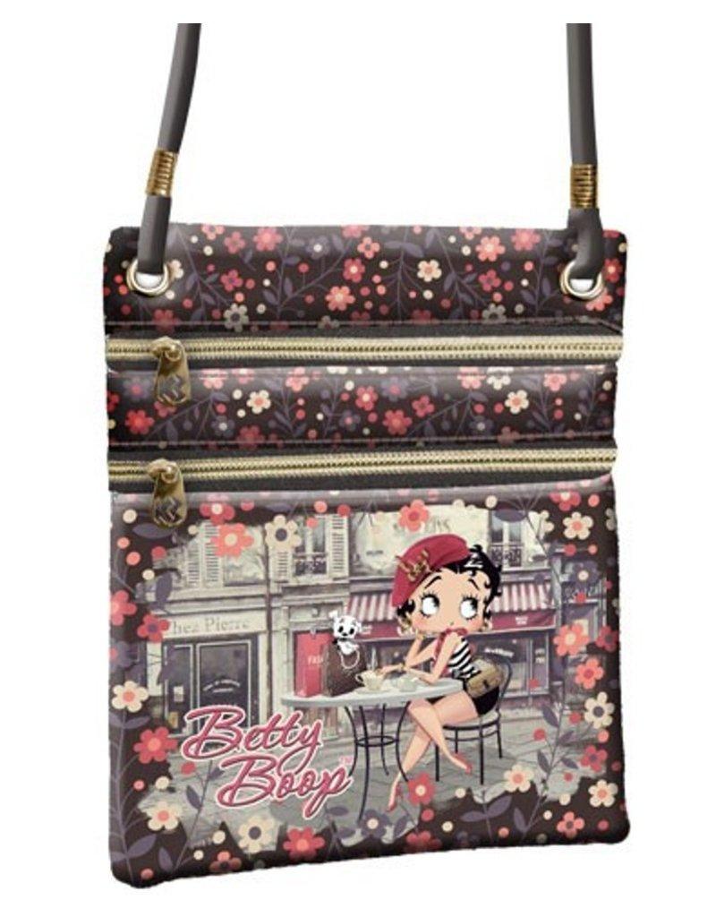 Betty Boop Betty Boop tassen - Betty Boop schoudertasje Café (vert.)
