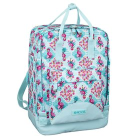 Moos Moos Flamingo Turquoise backpack rectangle
