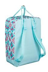 Moos Merchandise tassen - Moos Flamingo Turkoois rugtas rechthoek
