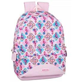 Moos Moos Flamingo Pink Laptop Backpack