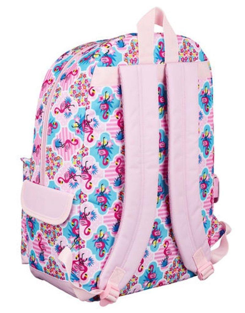 Moos Merchandise tassen - Moos Flamingo Pink Laptop Rugzak
