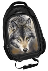 Fantasy bags - Caszmy Collection 3D lenticular Wolf backpack Nature's Beauty