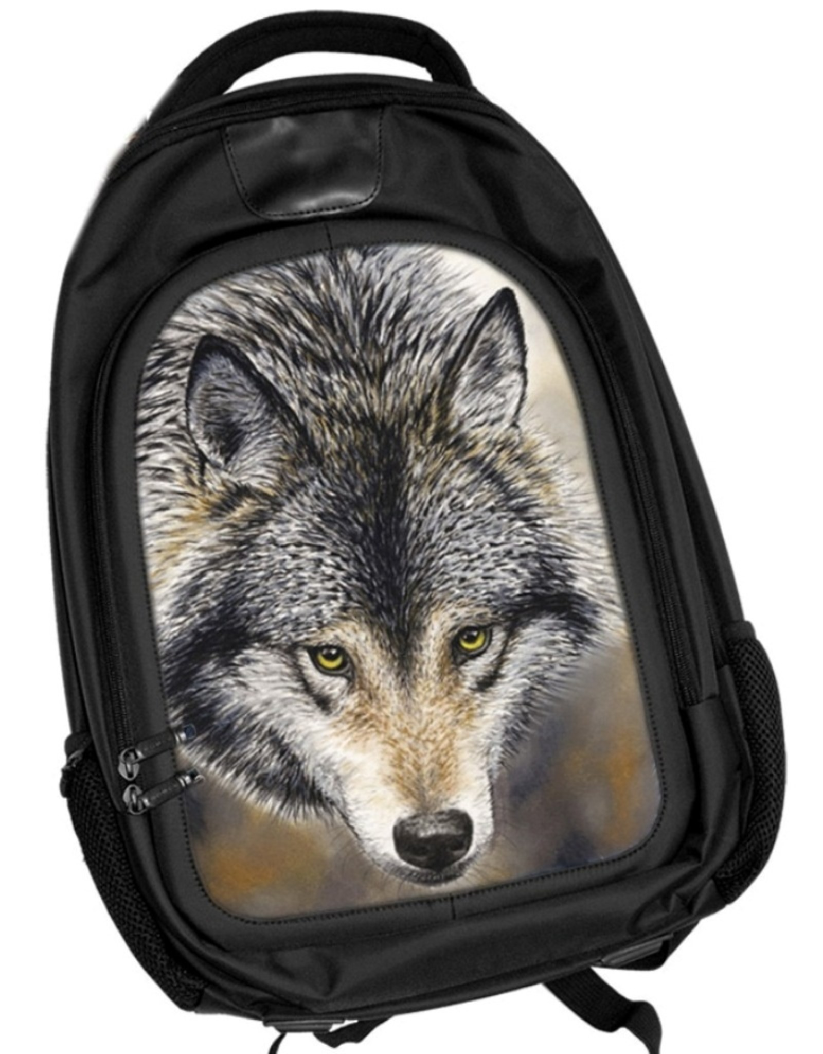 Caszmy Fantasy bags - Caszmy Collection 3D lenticular Wolf backpack Nature's Beauty