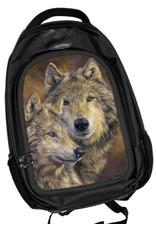 Caszmy Caszmy Collection 3D lentikular Wolves backpack The Bond