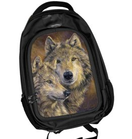Caszmy Collection 3D lenticular Wolves backpack The Bond