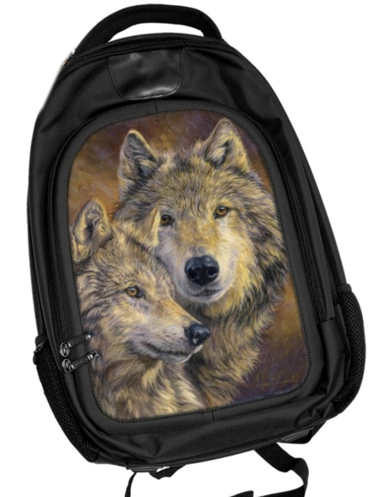 Caszmy Collection 3D lentikular Wolves backpack The Bond