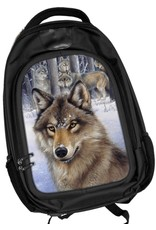 Fantasy bags - Caszmy Collection 3D lenticular backpack Wolf Pack
