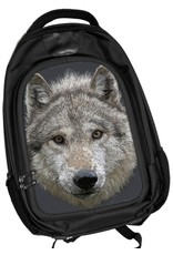 Fantasy bags - Caszmy Collection 3D lenticular Wolf Stare backpack