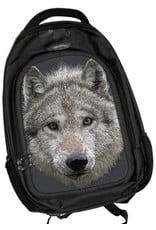 Fantasy tassen -  Caszmy Collection 3D Wolf Stare rugzak