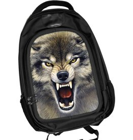 Caszmy Collection 3D Wolf backpack