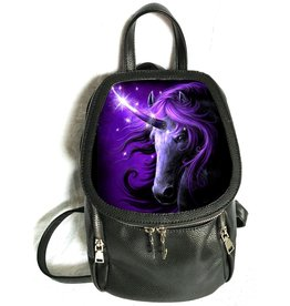 SheBlackDragon SheBlackDragon 3D lenticular Black Magic Unicorn backpack