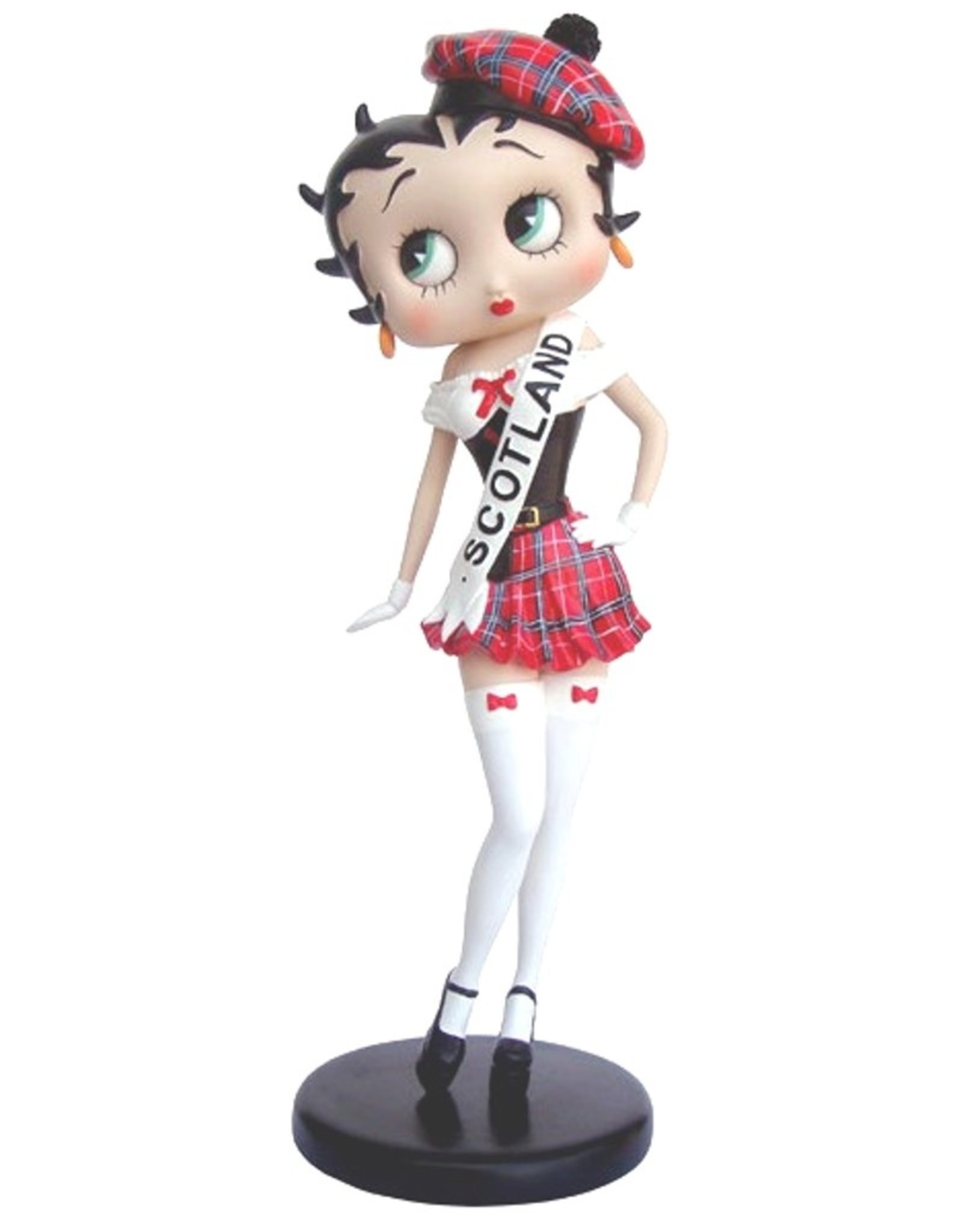 Betty Boop Betty Boop Collectables - Betty Boop Miss Scotland