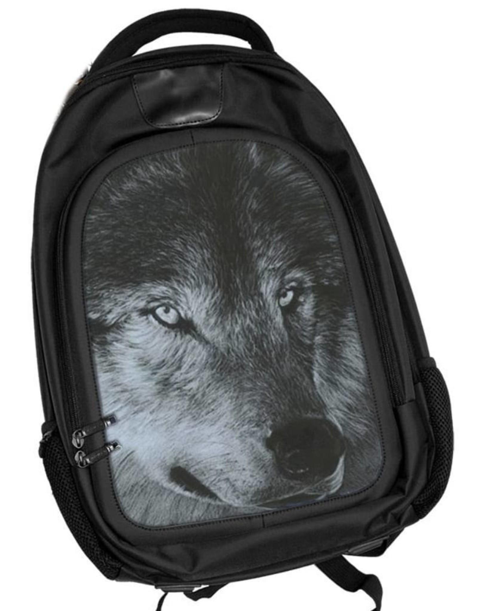 Caszmy 3D tassen en rugzakken - Caszmy Collection 3D  rugzak Dark Wolf
