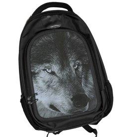 Caszmy Collection 3D lenticular backpack Dark Wolf