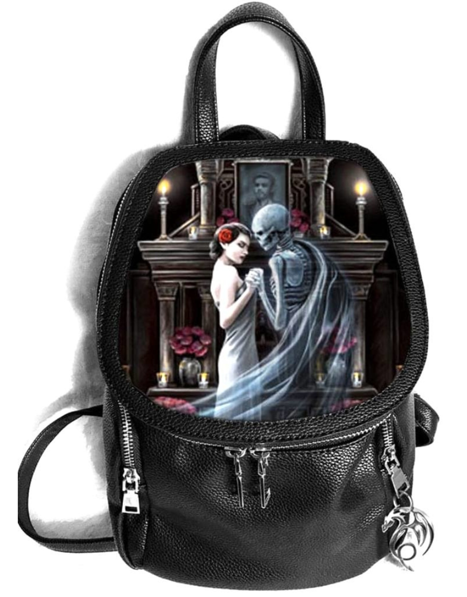 Anne Stokes Gothic bags Steampunk bags - Anne Stokes Forever Yours lenticular backpack