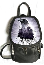 Alchemy Gothic bags Steampunk bags - Alchemy  lenticular backpack The Seer (Raven)