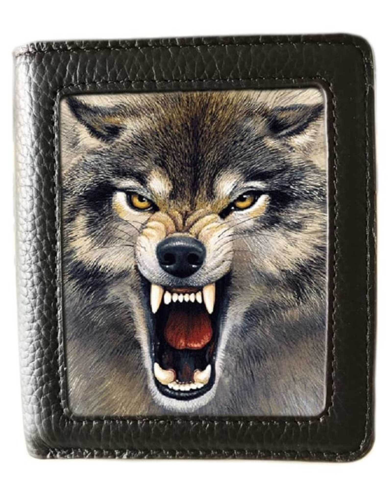 Caszmy 3D portemonnees - Caszmy Collection 3D  portemonnee Wolf