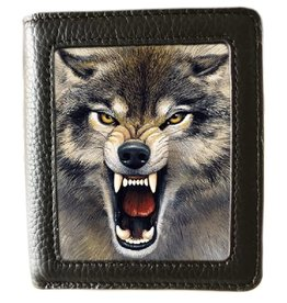 World of 3D Caszmy Collection 3D  wallet Wolf