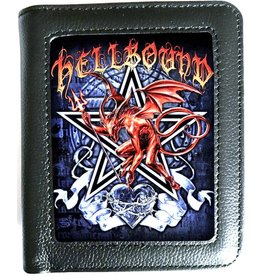 Alchemy 3D lenticular wallet Hellbound