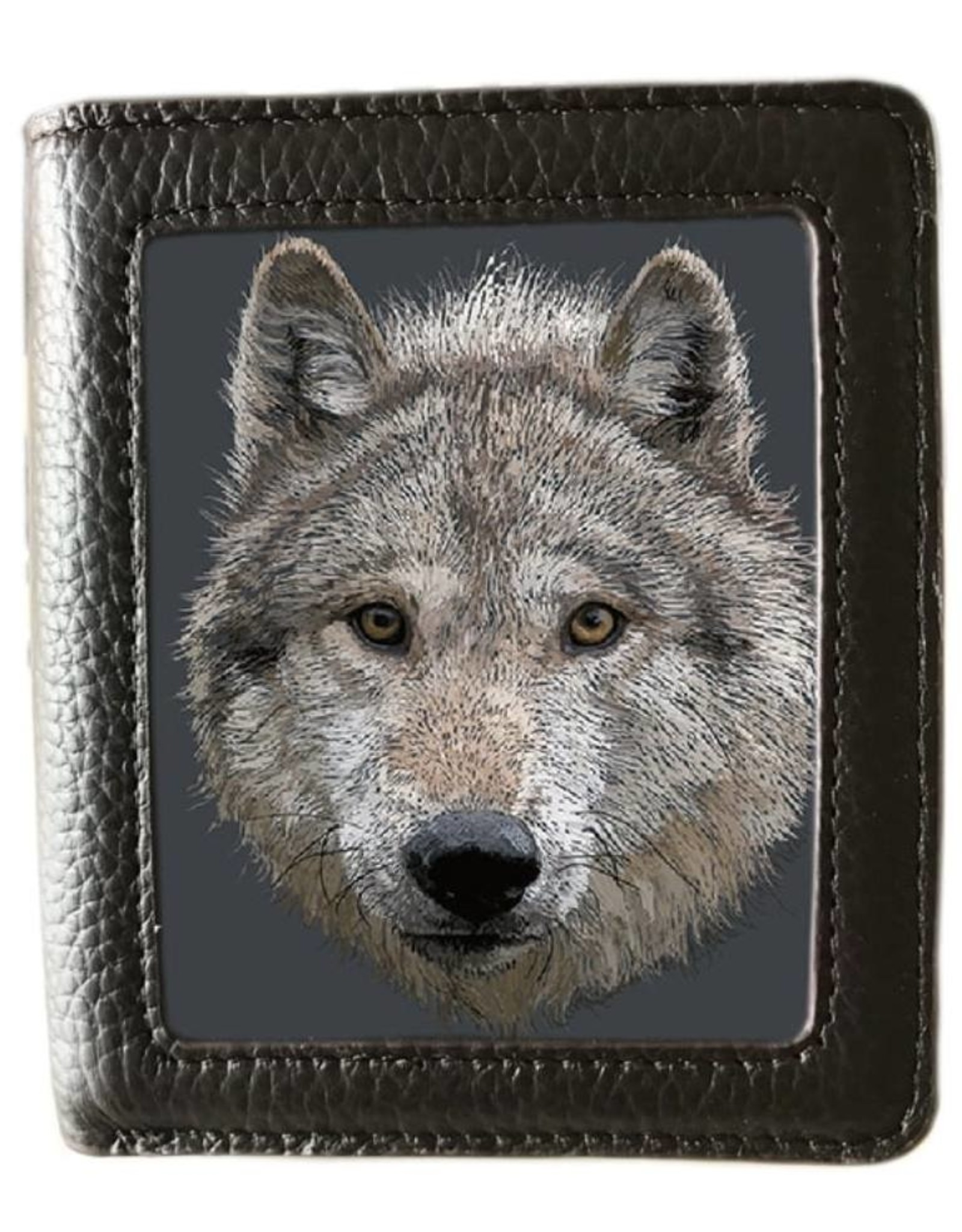 Caszmy 3D portemonnees - Caszmy Collection 3D  portemonnee Wolf Stare