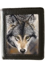 Caszmy Merchandise portemonnees - Caszmy Collection 3D  portemonnee Natures Beauty (Wolf)