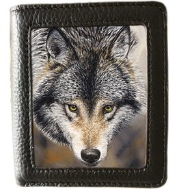 caszmy collection Caszmy Collection 3D lenticular  wallet Natures Beauty (Wolf)