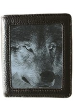 Caszmy Merchandise wallets - Caszmy Collection 3D  lenticular wallet Dark Wolf