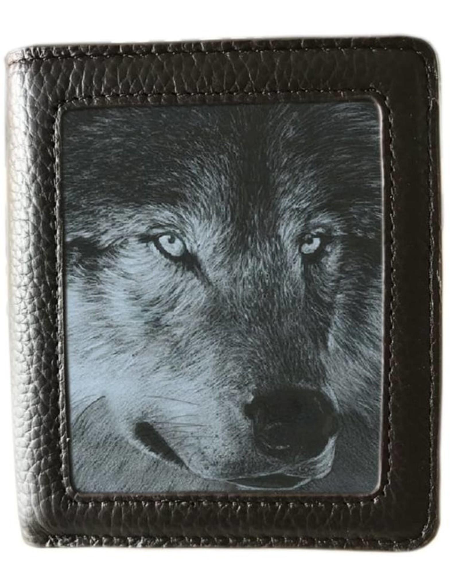 Caszmy Merchandise portemonnees - Caszmy Collection 3D  portemonnee Dark Wolf